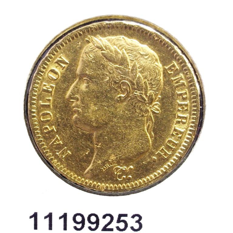 Réf. 11199253 Napoléon 40F  Napoléon Ier Tête Laurée Empire Français - AVERS