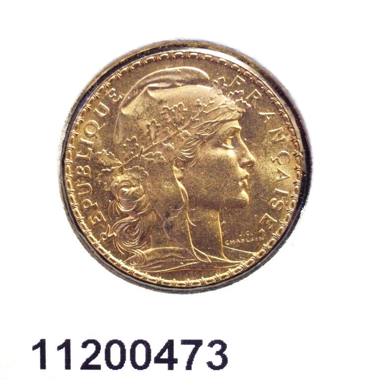 Réf. 11200473 Napoléon 20 Francs Marianne Coq - Liberté Egalité Fraternité - AVERS