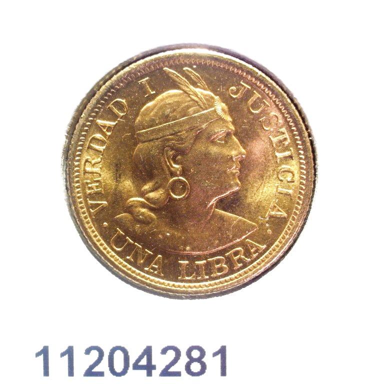 Réf. 11204281 Libra Peruvienne  LIBRA PERUVIENNE - AVERS