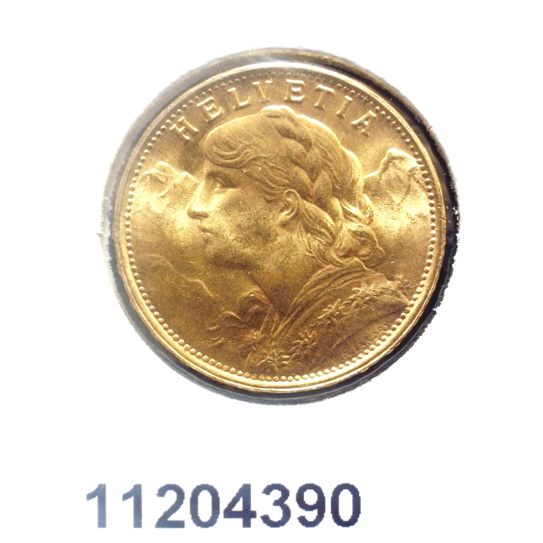 Réf. 11204390 20 Francs Suisse Vreneli (1935L, 1947 et 49)  - AVERS