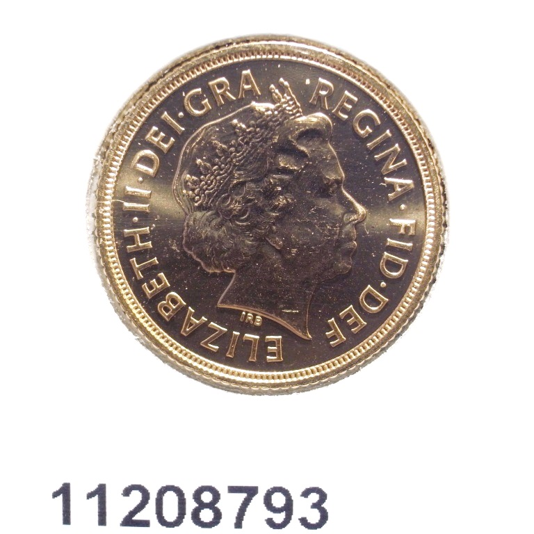 Réf. 11208793 Souverain Elisabeth II  Tête avec tiare 2012 - AVERS
