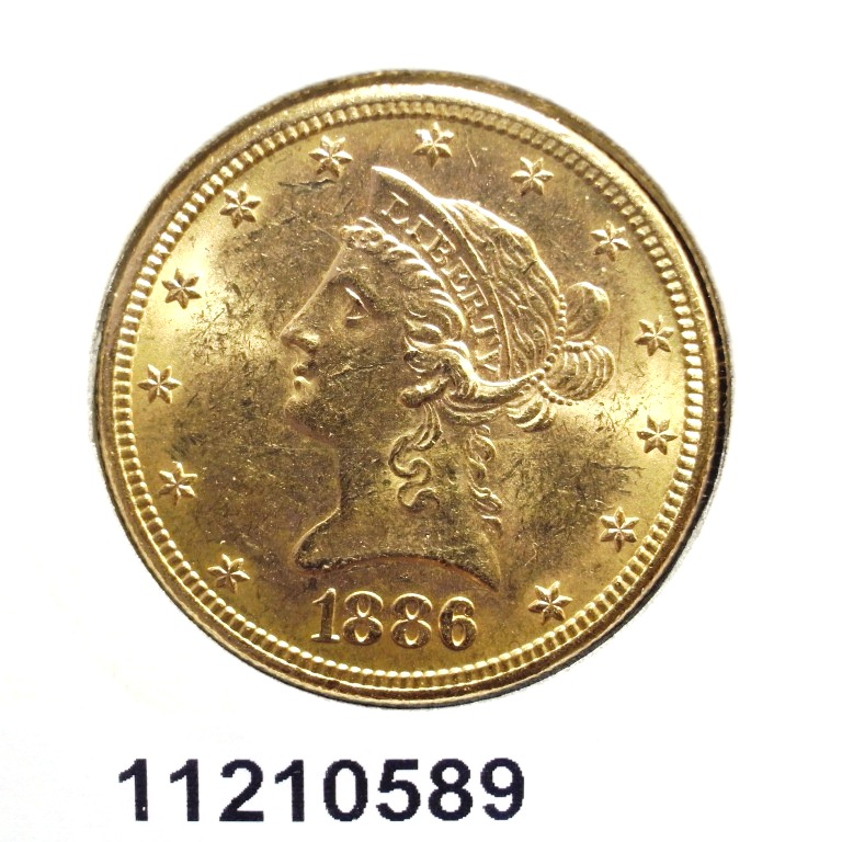 Réf. 11210589 10 Dollars US  Liberty - Ten Dollars - AVERS