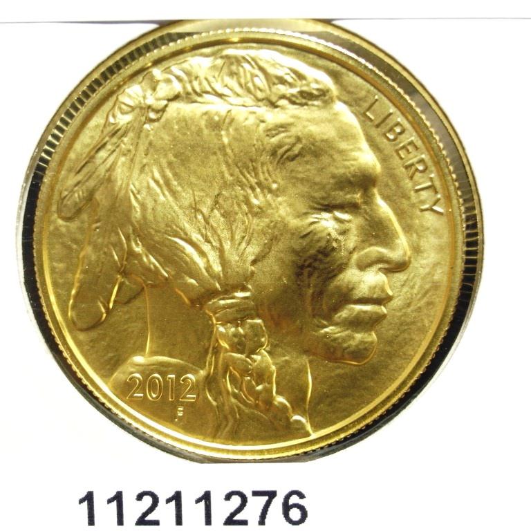 Réf. 11211276 Buffalo 1 once 50 Dollars US - AVERS