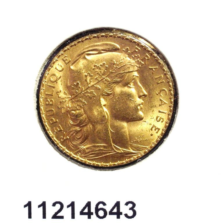 Réf. 11214643 Napoléon 20 Francs Marianne Coq - Liberté Egalité Fraternité - AVERS