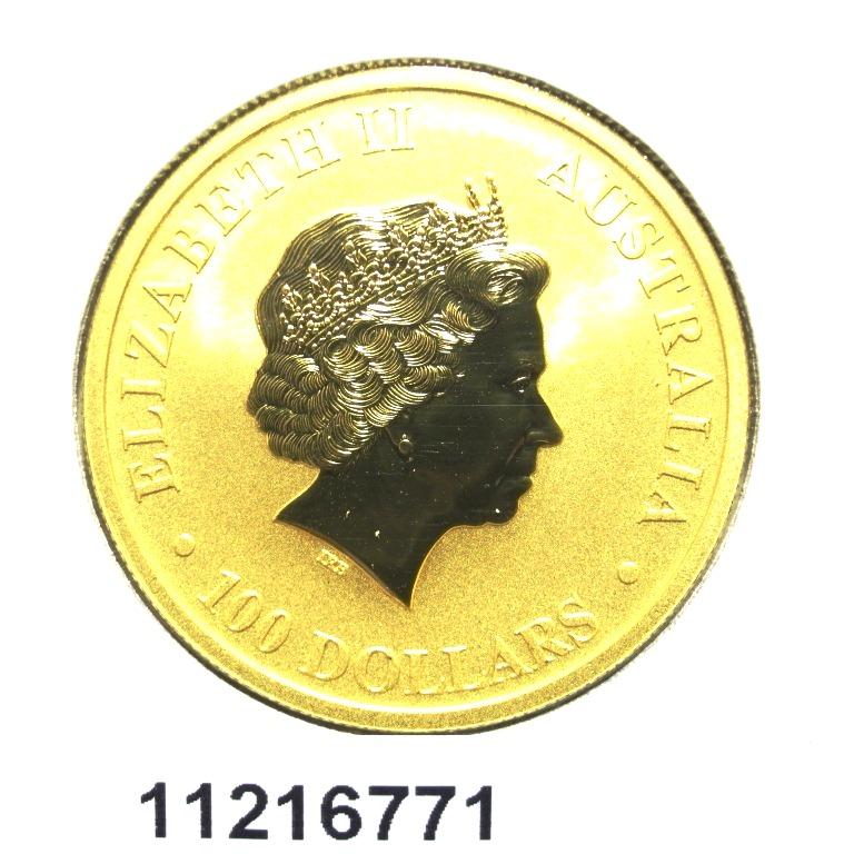 Réf. 11216771 Australian Nugget 1 once 100 Dollars Kangourou 2012 - AVERS