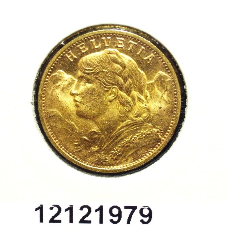 Réf. 12121979 20 Francs Suisse Vreneli (1935L, 1947 et 49)  - AVERS