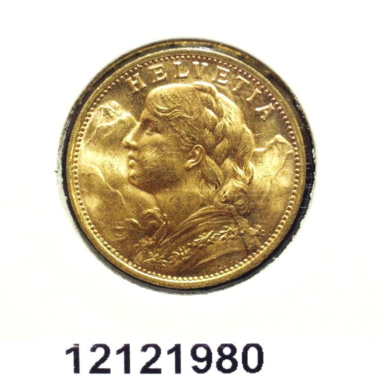 Réf. 12121980 20 Francs Suisse Vreneli (1935L, 1947 et 49)  - AVERS