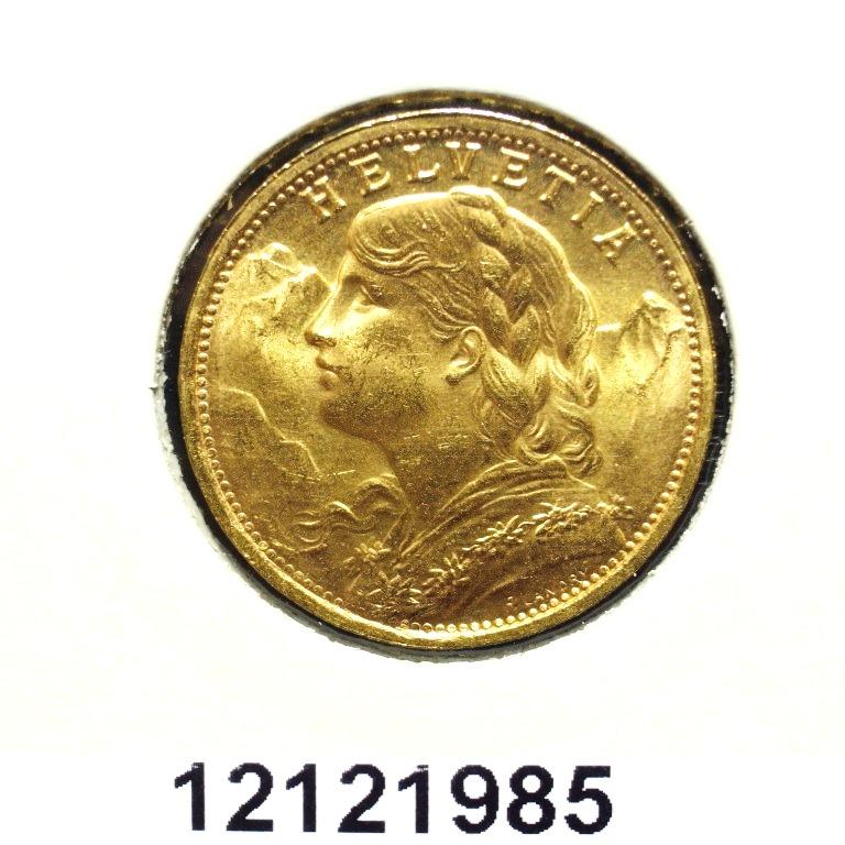 Réf. 12121985 20 Francs Suisse Vreneli (1935L, 1947 et 49)  - AVERS