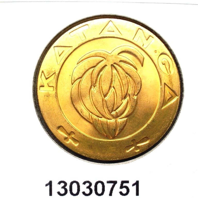 Réf. 13030751 5 Francs Katanga  - AVERS