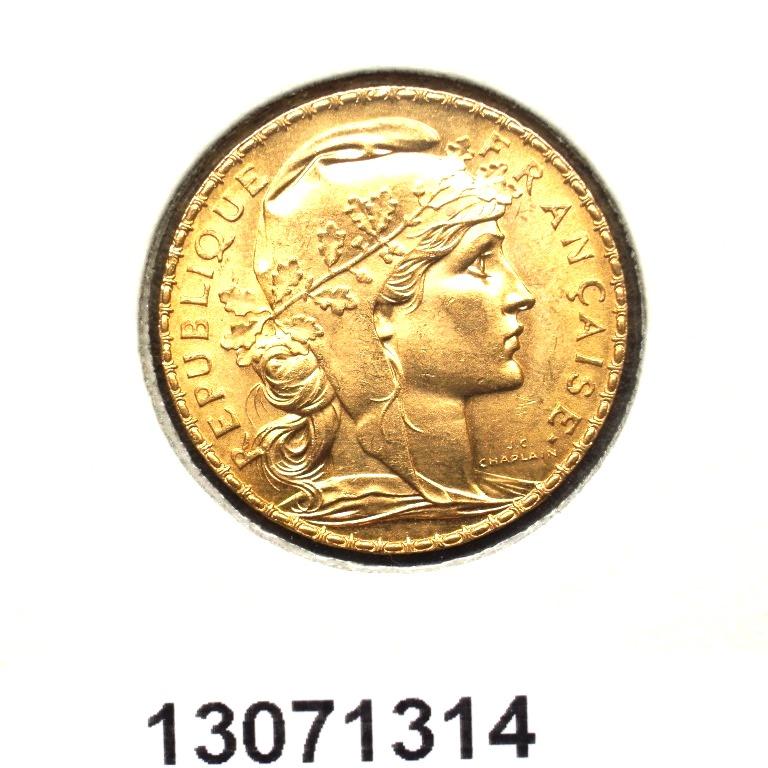 Réf. 13071314 Napoléon 20 Francs Marianne Coq - Liberté Egalité Fraternité - AVERS