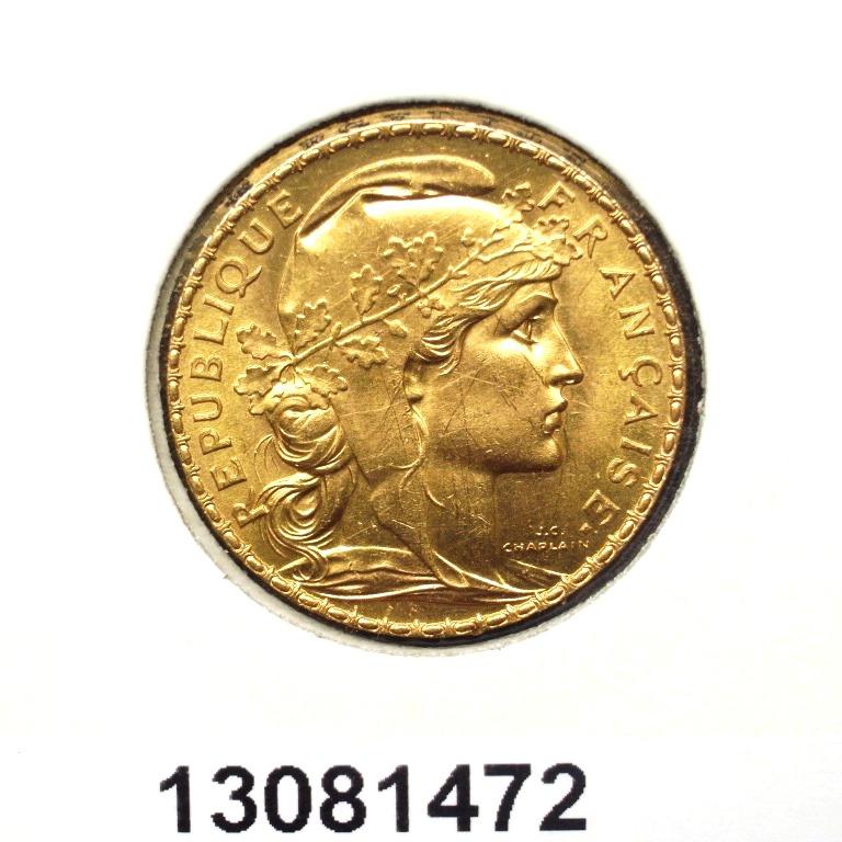 Réf. 13081472 Napoléon 20 Francs Marianne Coq - Liberté Egalité Fraternité - AVERS