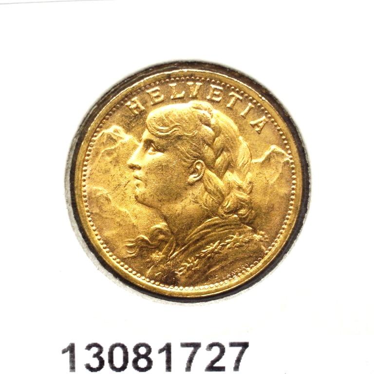 Réf. 13081727 20 Francs Suisse Vreneli (1935L, 1947 et 49)  - AVERS