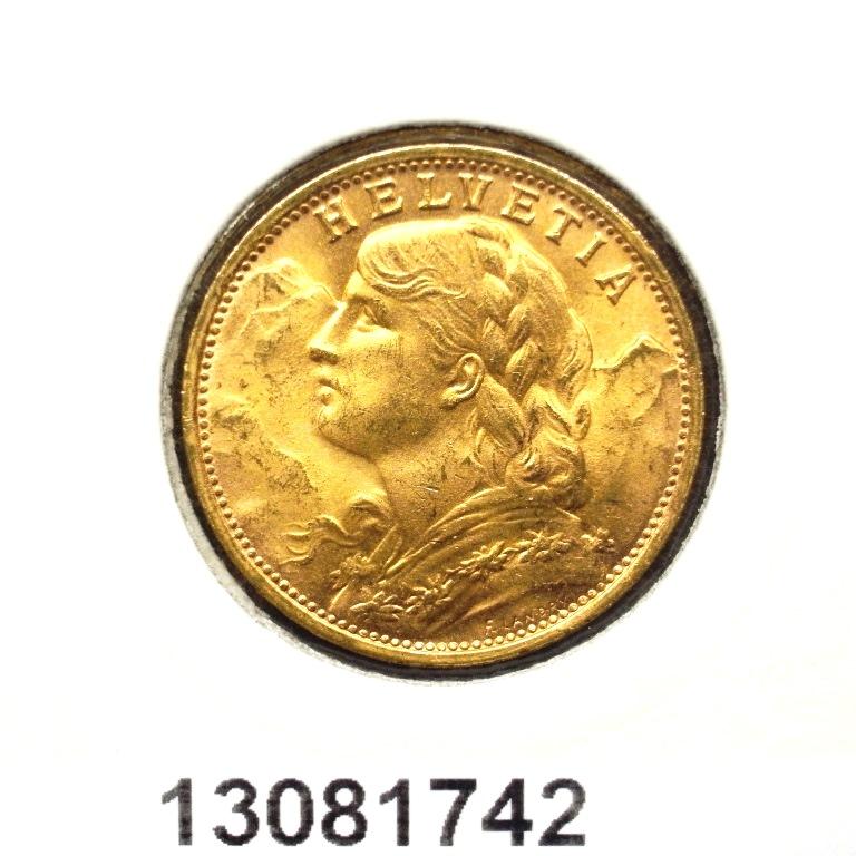 Réf. 13081742 20 Francs Suisse Vreneli (1935L, 1947 et 49)  - AVERS