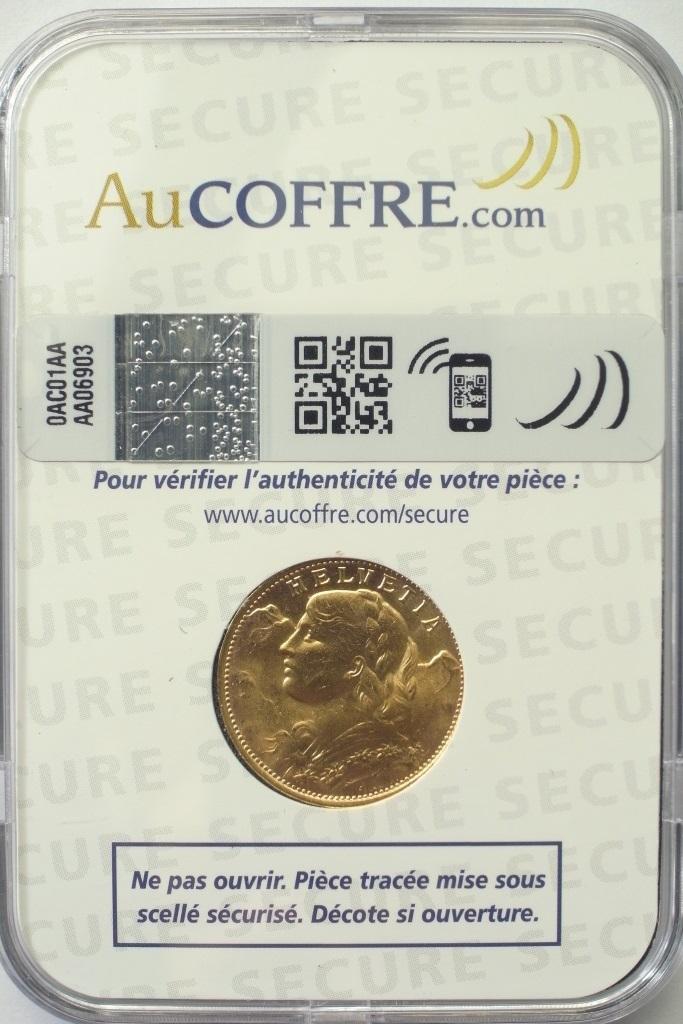 Réf. 14100667 20 Francs Suisse Vreneli (1935L, 1947 et 49)  Max Secure - AVERS