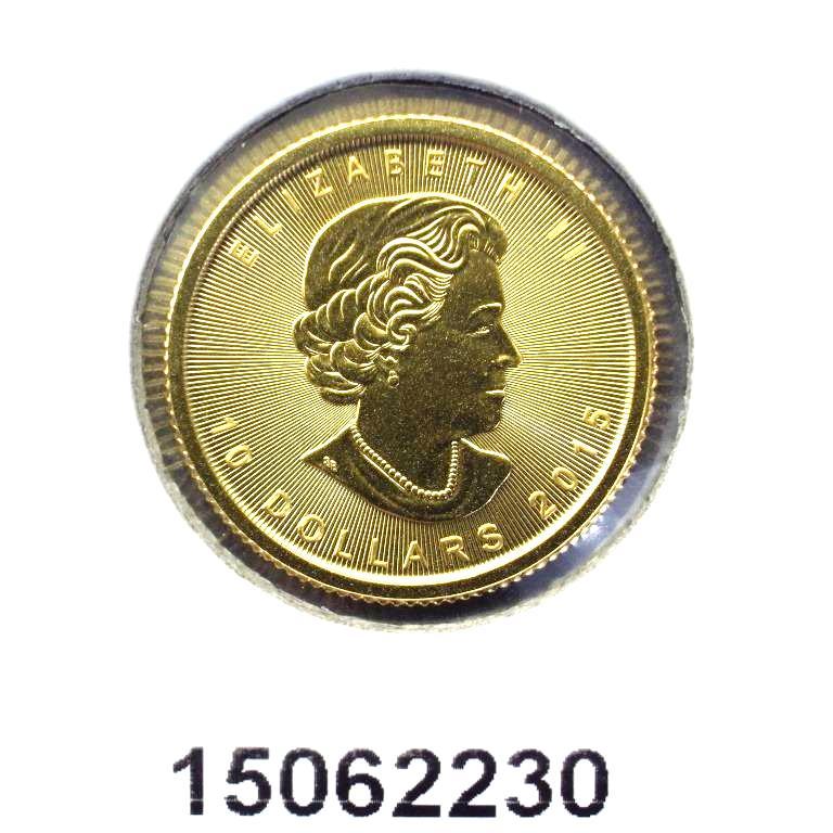 Réf. 15062230 Maple Leaf 1/4 once 10 Dollars Canada Elizabeth II - 9999 - AVERS
