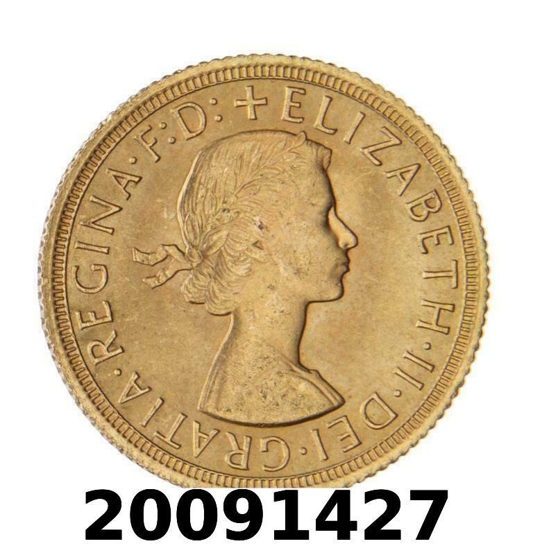Réf. 20091427 Souverain Elisabeth II  Buste Lauré (1957-1968) (LSP) - AVERS