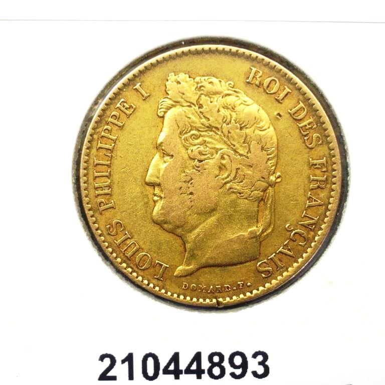 Réf. 21044893 Napoléon 40F  Louis Philippe - AVERS