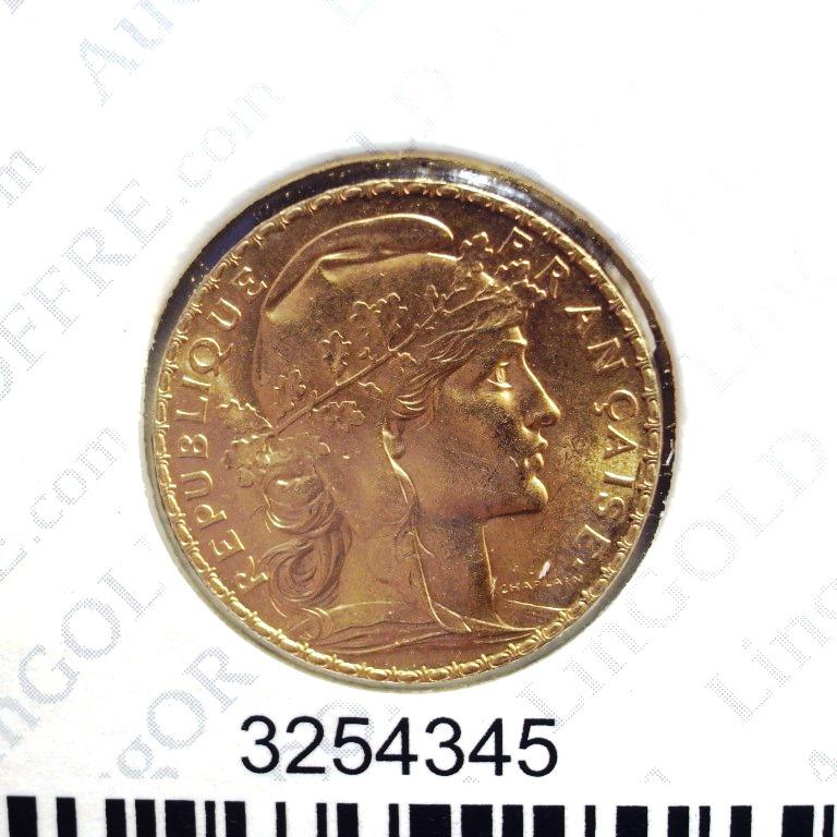 Réf. 3254345 Napoléon 20F  Marianne Coq - Liberté Egalité Fraternité - AVERS
