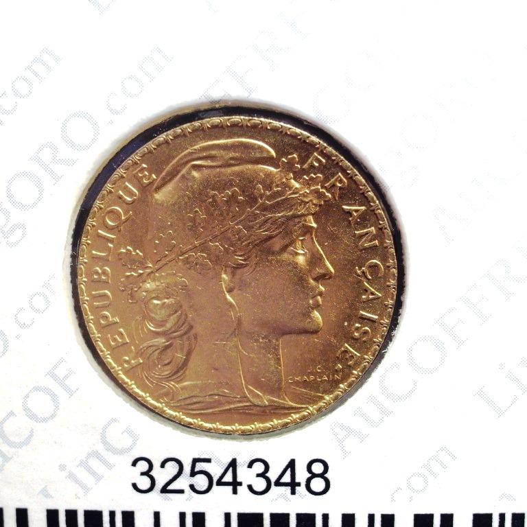 Réf. 3254348 Napoléon 20F  Marianne Coq - Liberté Egalité Fraternité - AVERS