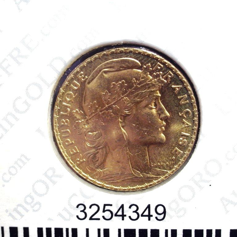 Réf. 3254349 Napoléon 20F  Marianne Coq - Liberté Egalité Fraternité - AVERS