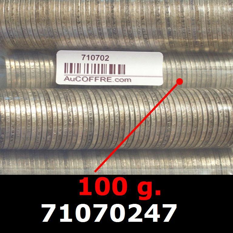 Réf. 71070247 100 grammes d\'argent pur - 5 Francs Semeuses (LSP)  Issu d un lot de 1000 Semeuses 5F - AVERS