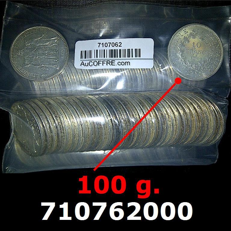 293033e7ac77ea 100 grammes d argent pur - 10 Francs Hercule (LSP)