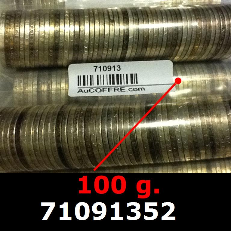 Réf. 71091352 100 grammes d\'argent pur - 5 Francs Semeuses (LSP)  Issu d un lot de 1000 Semeuses 5F - AVERS