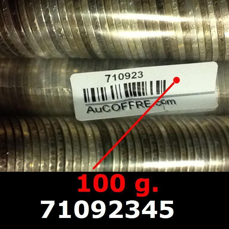 Réf. 71092345 100 grammes d\'argent pur - 5 Francs Semeuses (LSP)  Issu d un lot de 1000 Semeuses 5F - AVERS