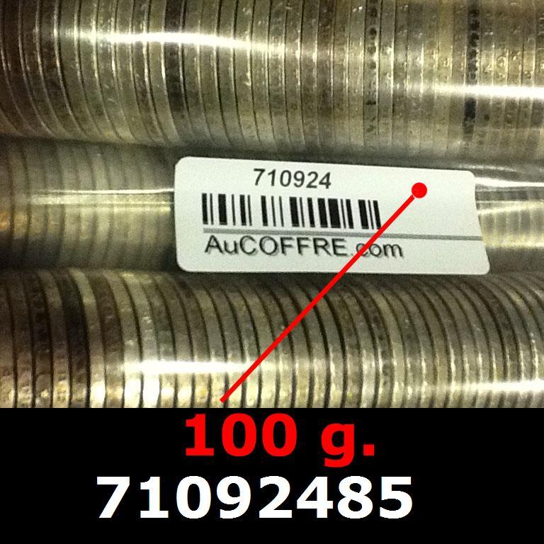 Réf. 71092485 100 grammes d\'argent pur - 5 Francs Semeuses (LSP)  Issu d un lot de 1000 Semeuses 5F - AVERS