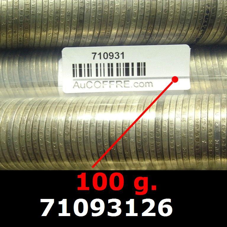 Réf. 71093126 100 grammes d\'argent pur - 5 Francs Semeuses (LSP)  Issu d un lot de 1000 Semeuses 5F - AVERS
