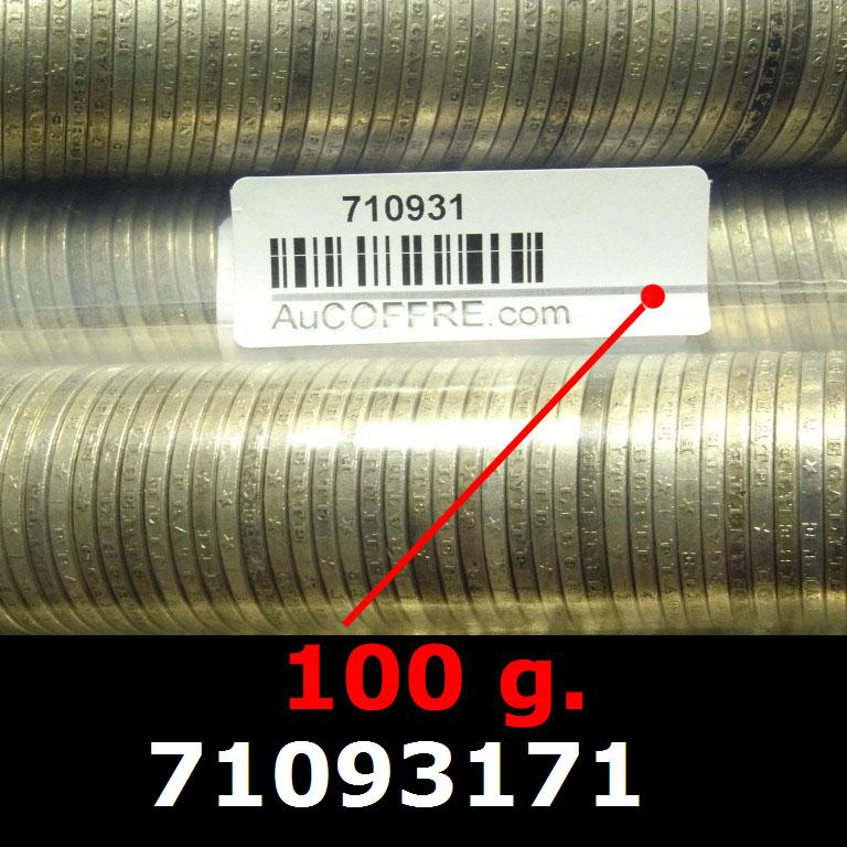 Réf. 71093171 100 grammes d\'argent pur - 5 Francs Semeuses (LSP)  Issu d un lot de 1000 Semeuses 5F - AVERS