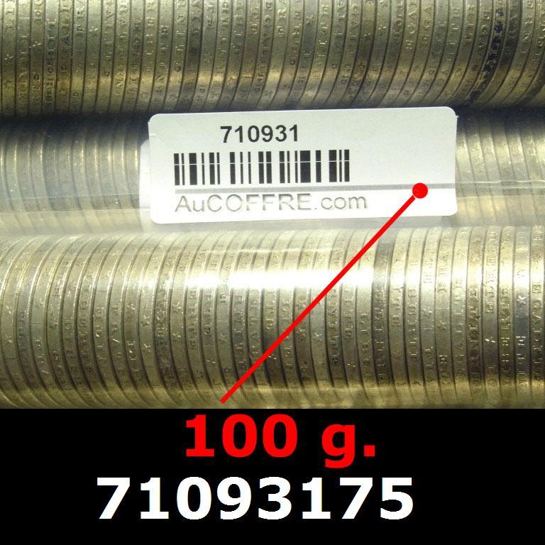 Réf. 71093175 100 grammes d\'argent pur - 5 Francs Semeuses (LSP)  Issu d un lot de 1000 Semeuses 5F - AVERS