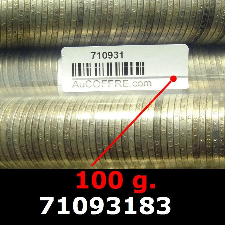 Réf. 71093183 100 grammes d\'argent pur - 5 Francs Semeuses (LSP)  Issu d un lot de 1000 Semeuses 5F - AVERS
