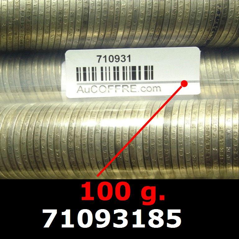 Réf. 71093185 100 grammes d\'argent pur - 5 Francs Semeuses (LSP)  Issu d un lot de 1000 Semeuses 5F - AVERS