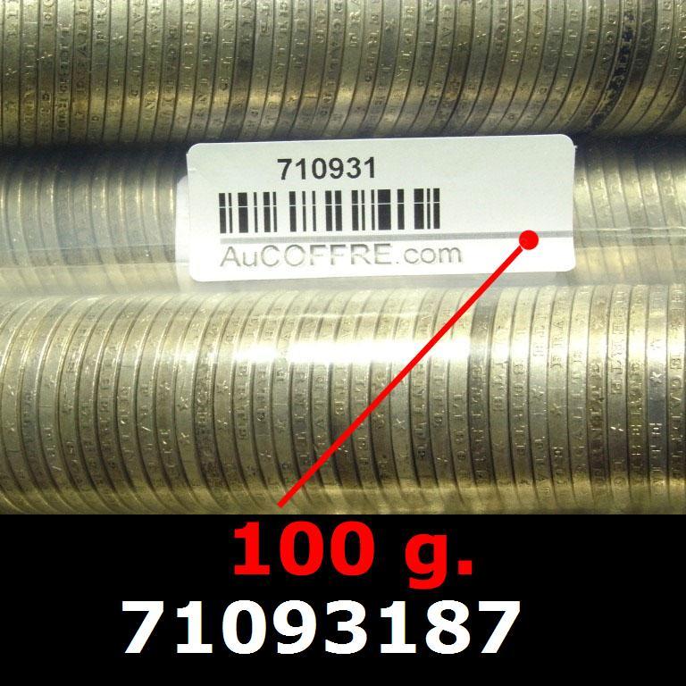 Réf. 71093187 100 grammes d\'argent pur - 5 Francs Semeuses (LSP)  Issu d un lot de 1000 Semeuses 5F - AVERS