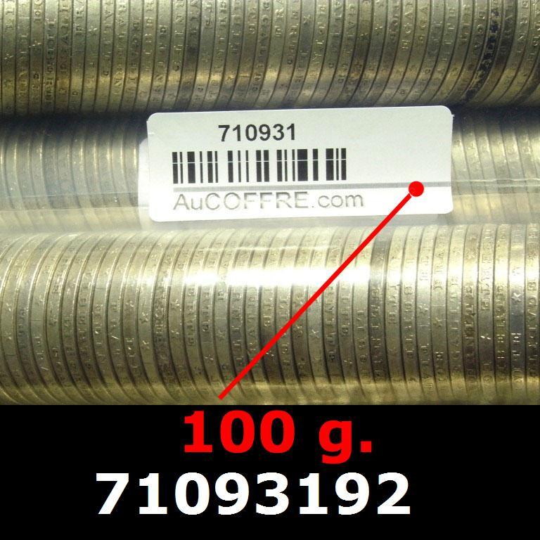 Réf. 71093192 100 grammes d\'argent pur - 5 Francs Semeuses (LSP)  Issu d un lot de 1000 Semeuses 5F - AVERS