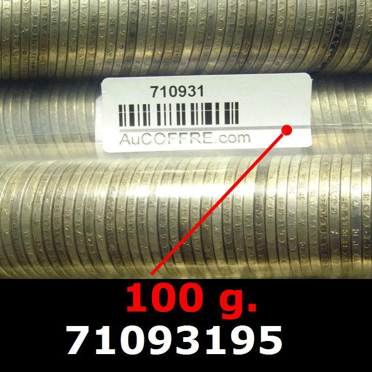 Réf. 71093195 100 grammes d\'argent pur - 5 Francs Semeuses (LSP)  Issu d un lot de 1000 Semeuses 5F - AVERS