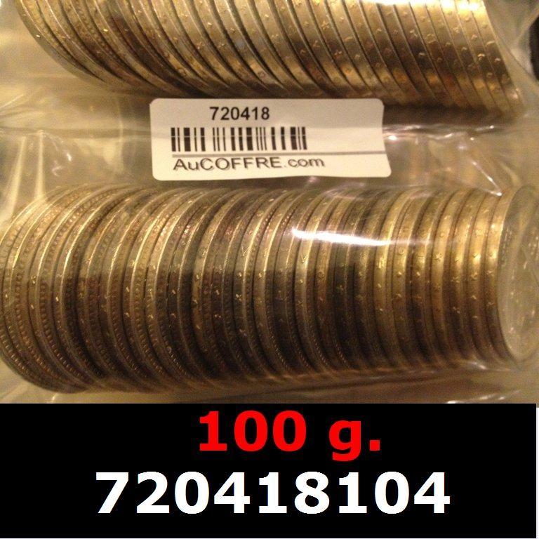 Réf. 720418104 100 grammes d\'argent pur - 50 Francs Hercule (LSP)  Issu d un lot de 1000 Hercule 50F - AVERS