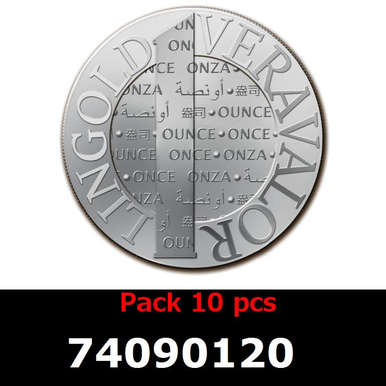 Réf. 74090120 Lot 10 Vera Silver 1 once (LSP)  2014 - AVERS