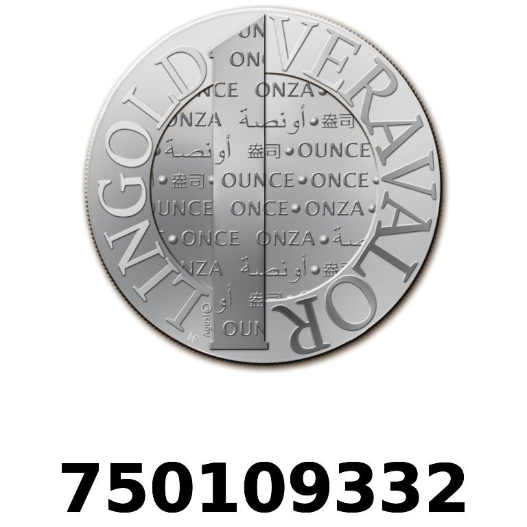 Réf. 750109332 Vera Silver 1 once (LSP)  2015 - AVERS