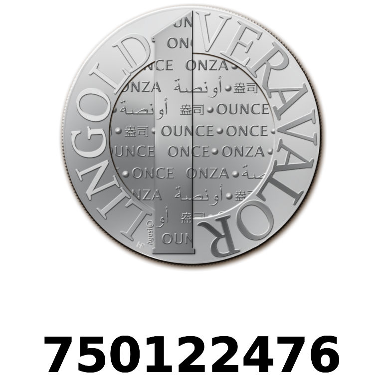 Réf. 750122476 Vera Silver 1 once (LSP)  2015 - AVERS