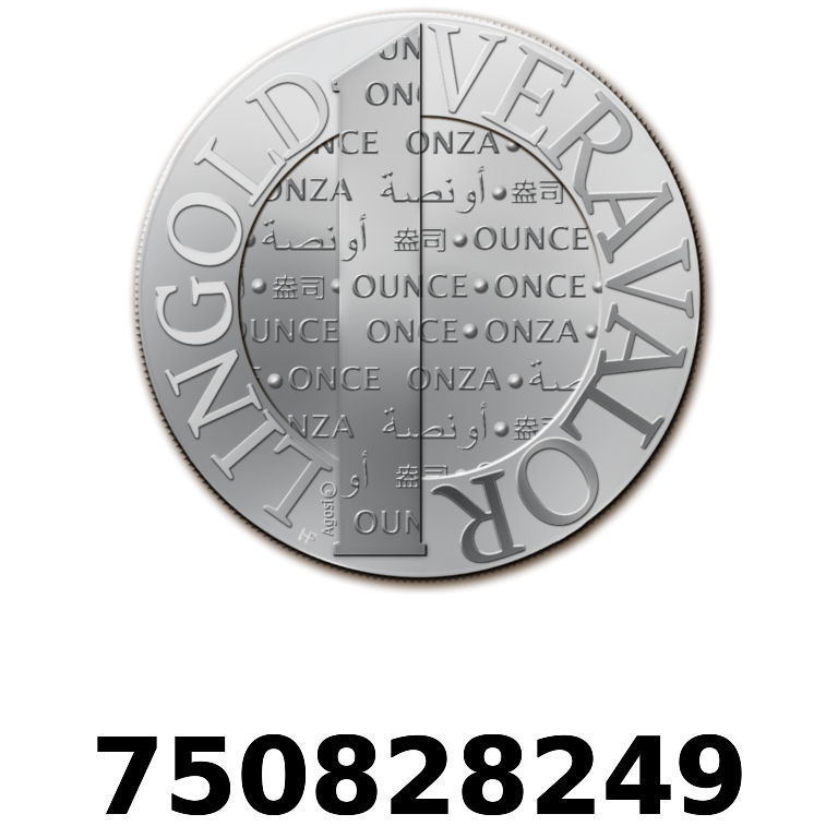 Réf. 750828249 Vera Silver 1 once (LSP)  2015 - AVERS