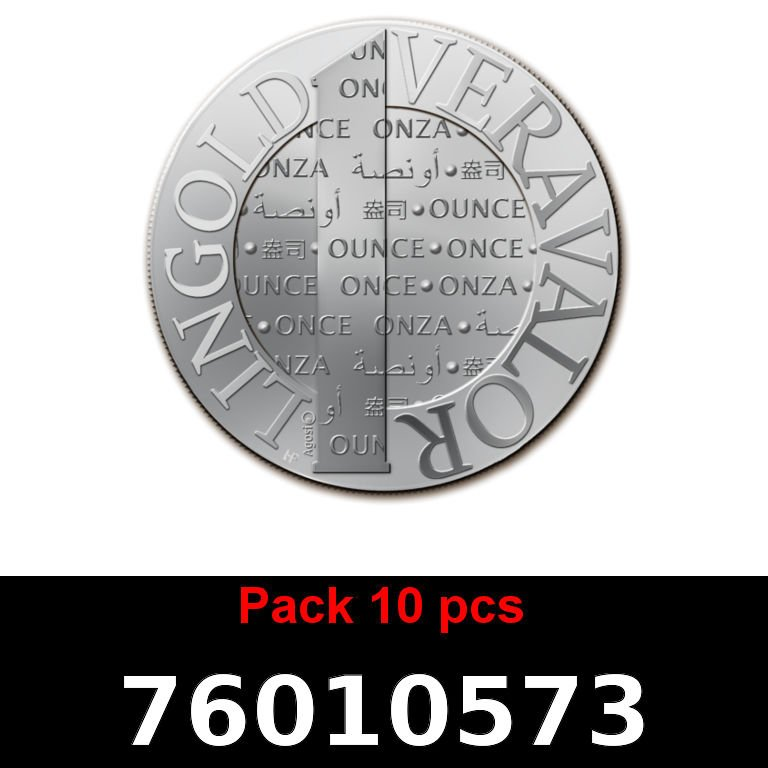 Réf. 76010573 Lot 10 Vera Silver 1 once (LSP)  2015 - AVERS