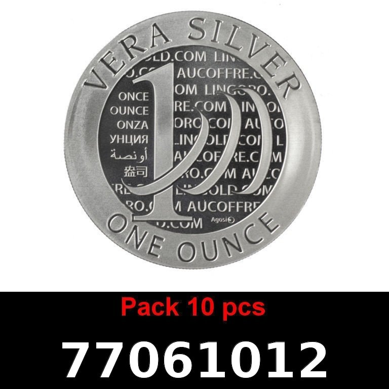 Réf. 77061012 Lot 10 Vera Silver 1 once (LSP)  2015 - 2eme type - AVERS
