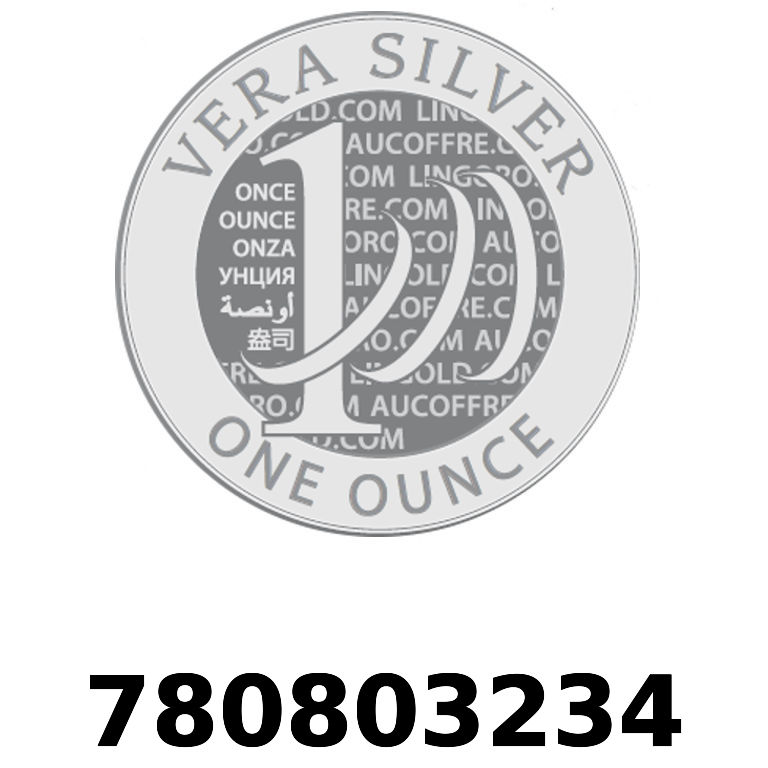 Réf. 780803234 Vera Silver 1 once (LSP)  2018 - AVERS