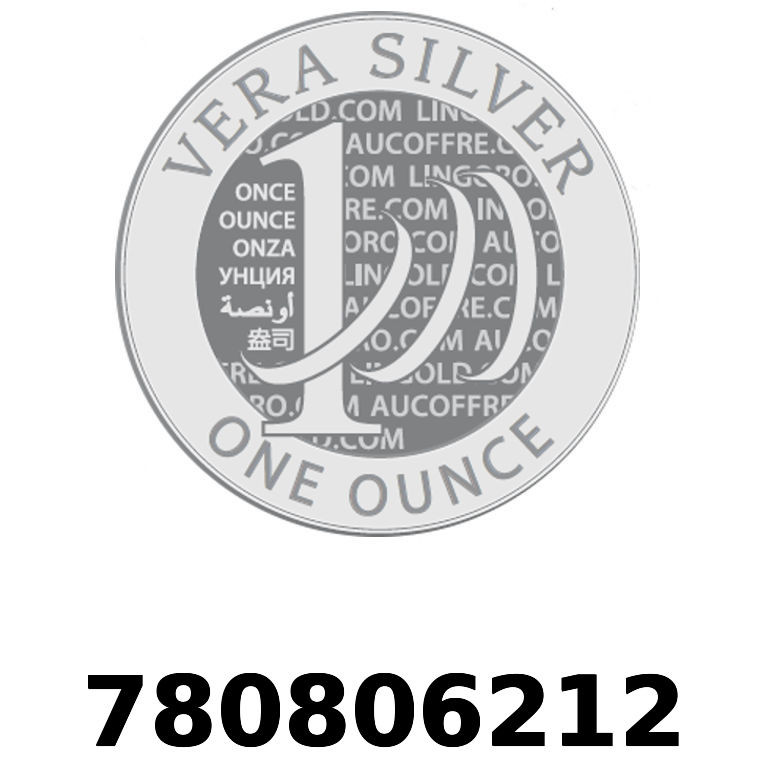 Réf. 780806212 Vera Silver 1 once (LSP)  2018 - AVERS