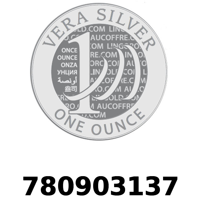 Réf. 780903137 Vera Silver 1 once (LSP)  2018 - AVERS