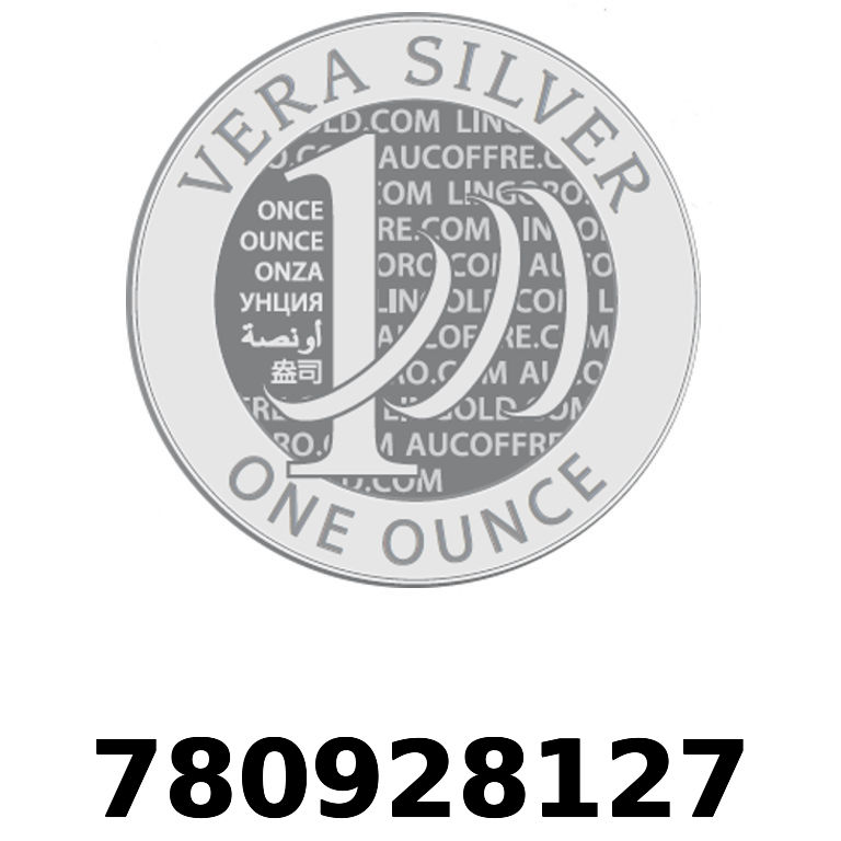 Réf. 780928127 Vera Silver 1 once (LSP)  2018 - AVERS