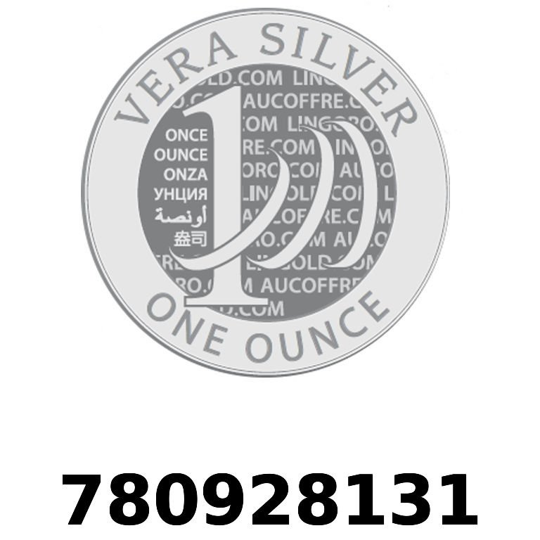 Réf. 780928131 Vera Silver 1 once (LSP)  2018 - AVERS