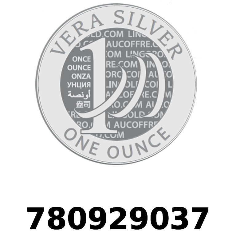 Réf. 780929037 Vera Silver 1 once (LSP)  2018 - AVERS